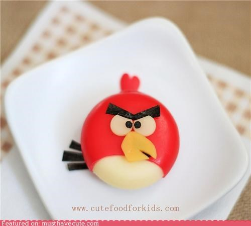 angry birds babybel decorated epicute game wax