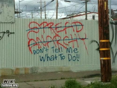anarchy,graffiti,hacked,retort,touché