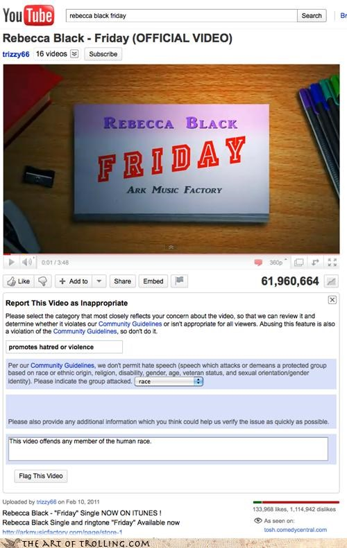 FRIDAY Rebecca Black youtube - 4599612416
