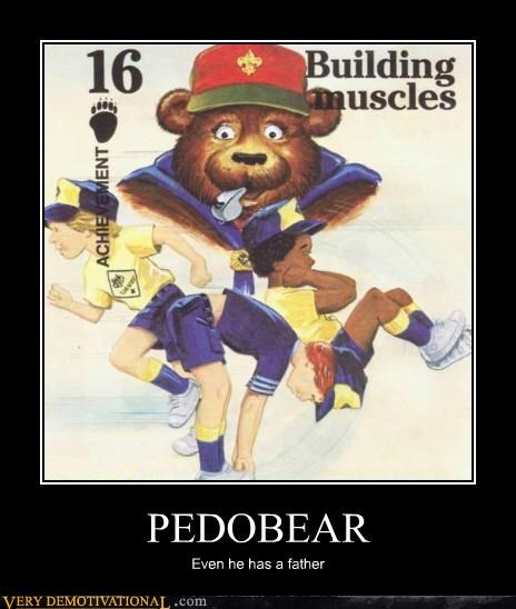 boy scouts Father hilarious pedobear - 4599778048