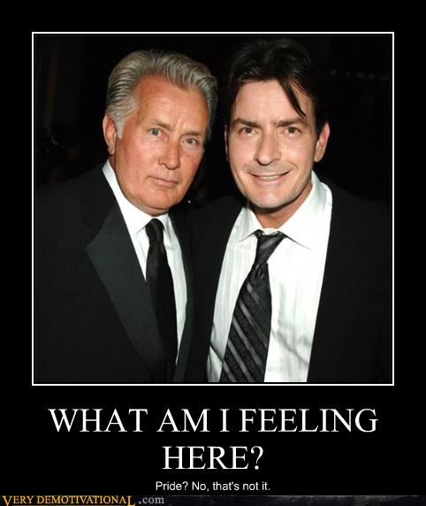 actors,Charlie Sheen,kids,martin sheen,parents,pride