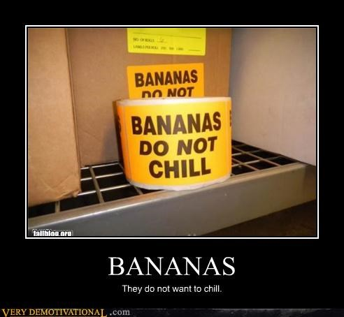 bananas chill sign - 4600403712