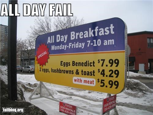 ads breakfast facepalm failboat g rated open signs - 4600483840