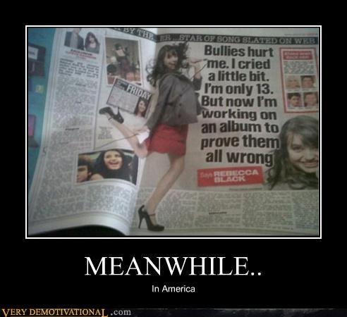 america Meanwhile Rebecca Black - 4600640512