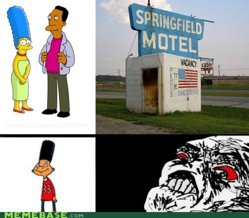love child marge simpsons springfield - 4600694528