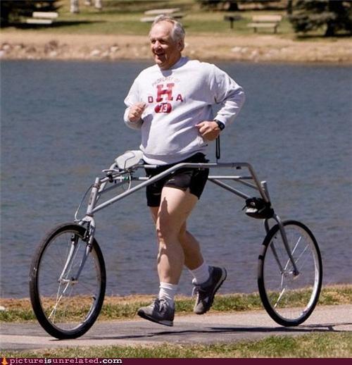 bike cheating jogging - 4600832768