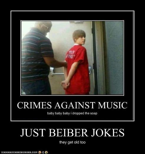 JUST BEIBER JOKES they get old too