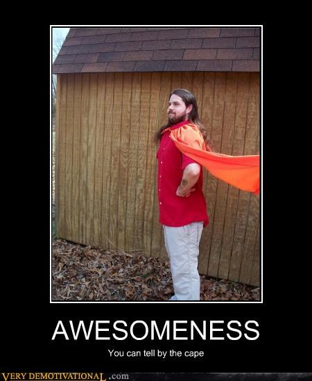 awesome beard cape wtf - 4601292544