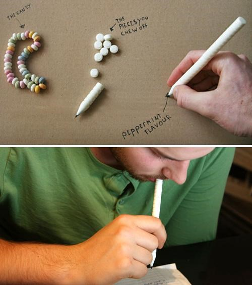 Dave Haskkens,Design Concept,Edible Pen