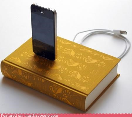 book charger dock iphone ipod - 4602084352