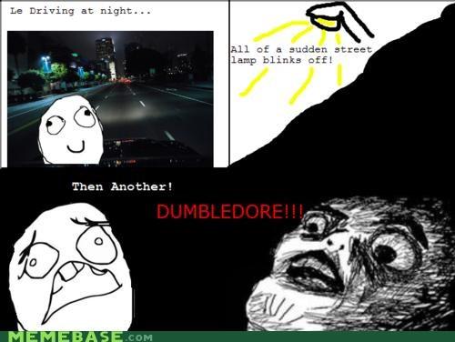 dumbledore Harry Potter streetlights - 4602118144