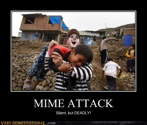 attack,kids,mime attack