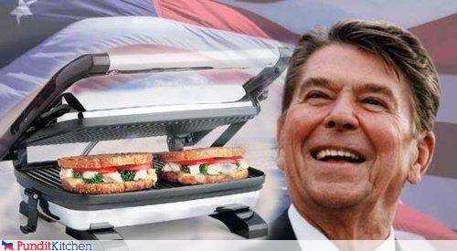 Economics,grill,political pictures,Ronald Reagan