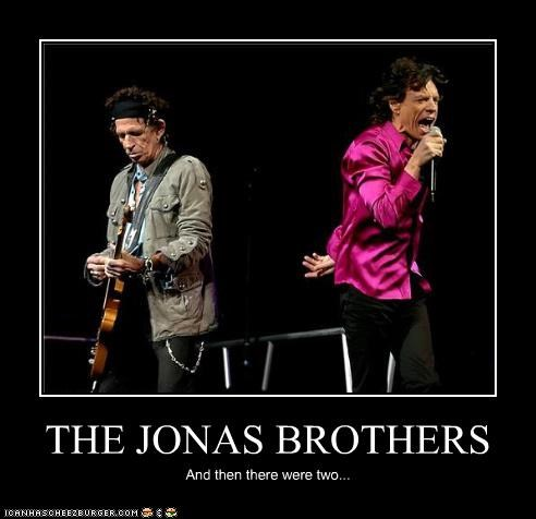 THE JONAS BROTHERS And then there were two...