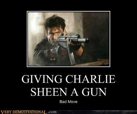bad idea Charlie Sheen gun - 4602487040