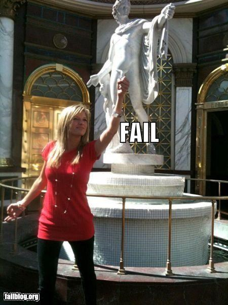 art failboat moments p33n Photo posing statues