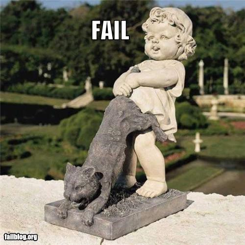 Cats eww failboat innuendo statues Things That Are Doing It