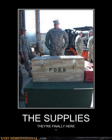 military,pr0n,supplies