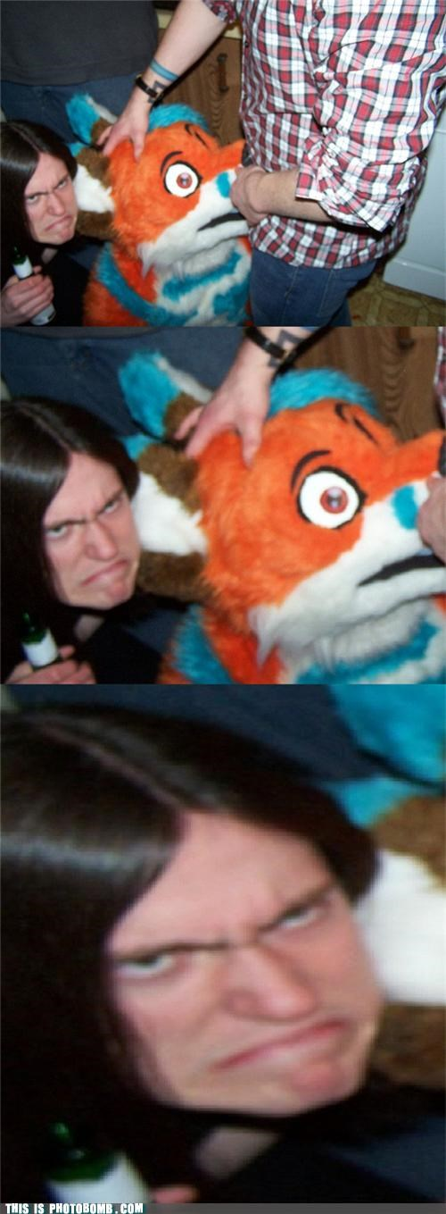 Awkward caught in the act costume furries Jägerbombed sad face - 4603275264