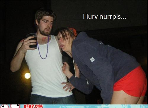 couple,derp,drunk,nipple