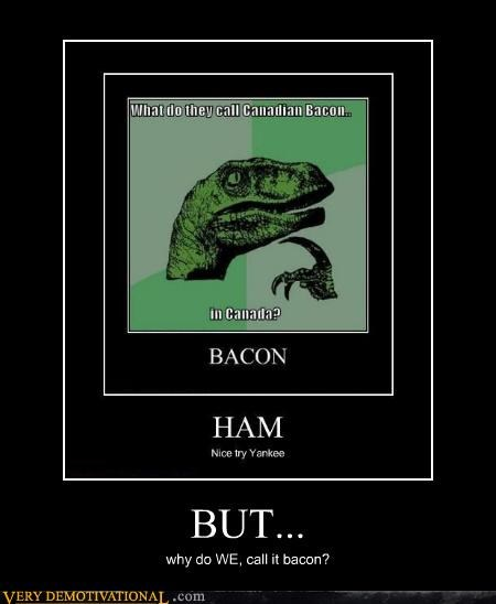 canadian bacon ham philosoraptor