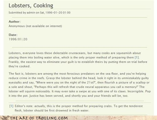 cooking delicious lobster - 4604074496