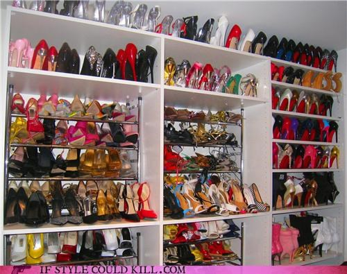 celeb celebrity stylehoarder closet crazy shoes - 4604142080