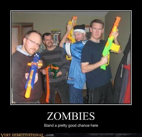 guns Nerf zombie - 4604790784