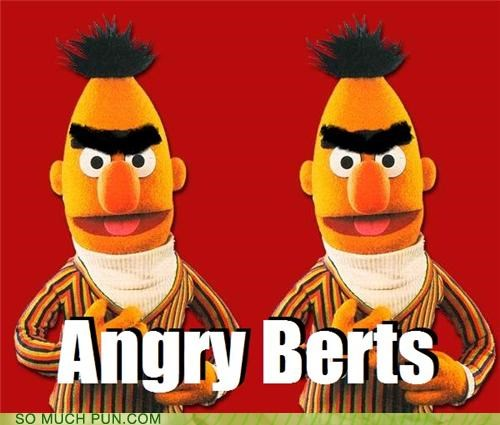 angry angry birds bert berts Finland finnish Hall of Fame homoerotic Sesame Street similar sounding undertones