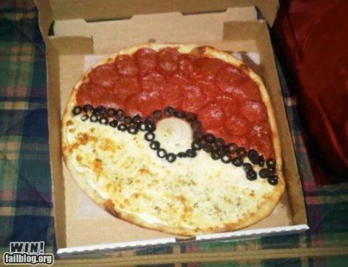 food nerdgasm pizza Pokémon - 4605224960
