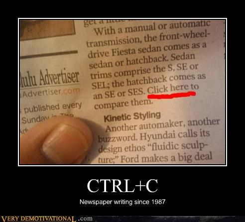 copy ctrlc idiots link newspaper - 4605282560