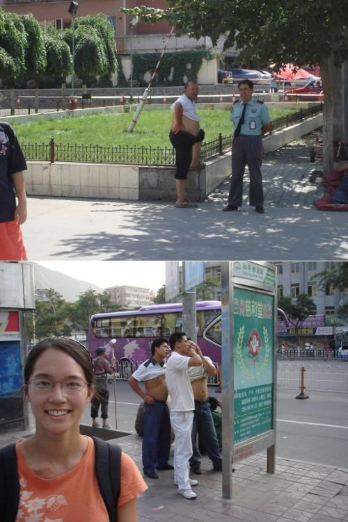 Beijing Bikini,Culture Shock,Shirt Roll,sightseeing