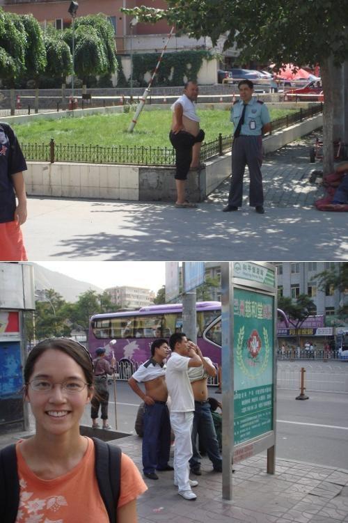 Beijing Bikini Culture Shock Shirt Roll sightseeing - 4605346048