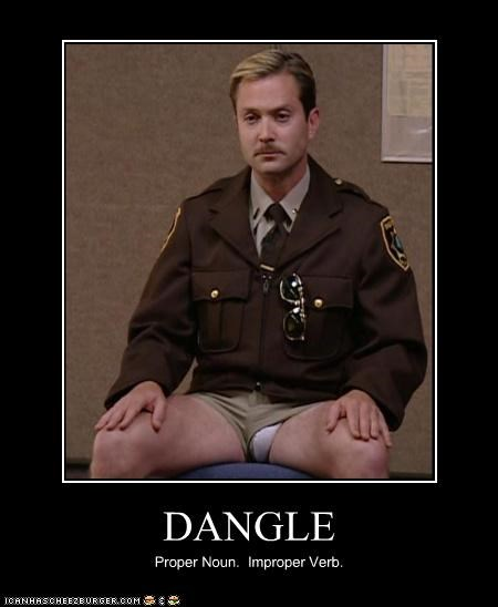 actor celeb demotivational funny RENO 911 thomas lennon