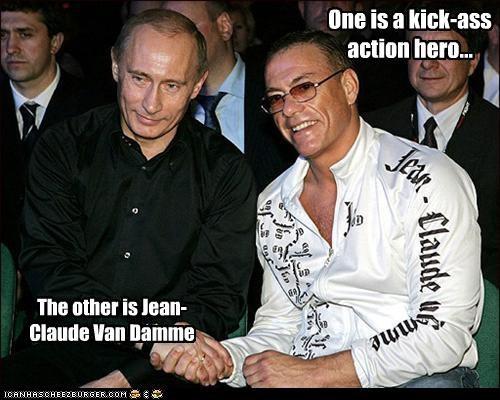 Jean-Claude Van Damme,political pictures,Vladimir Putin,vladurday