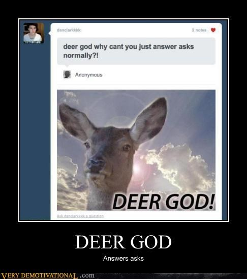 deer,god,typo