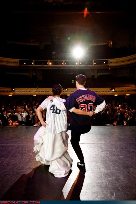 baseball,funny wedding photos,red sox,yankees