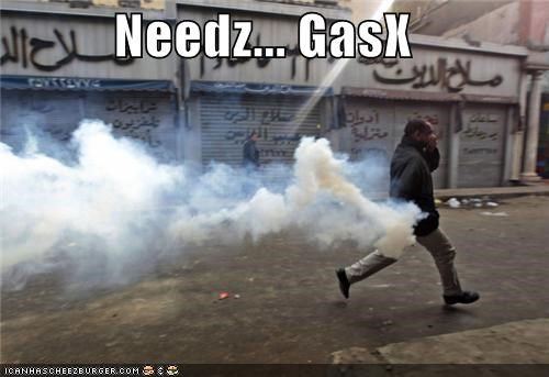 political pictures tear gas teargas