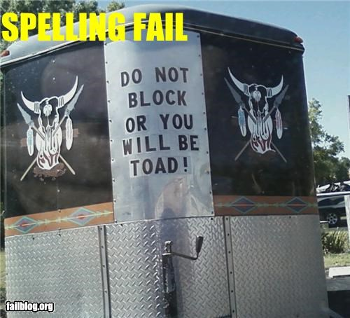 driving failboat g rated parking spelling toads towed trailers - 4606463232