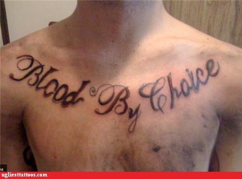 wtf Blood tattoos funny - 4606682112