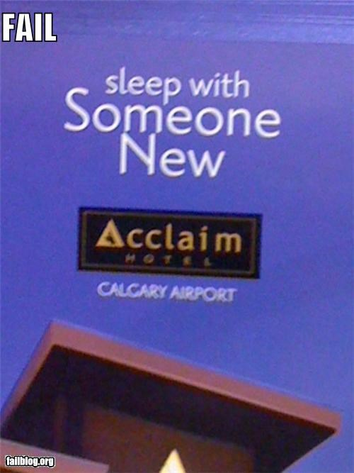 airlines,failboat,innuendo,poorly planned,sign