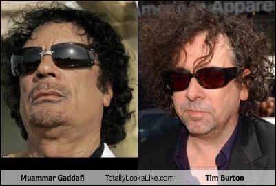 dictators directors libya muammar al-gaddafi tim burton - 4607369472