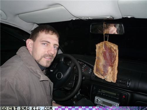 jerky meat rear view - 4607473664