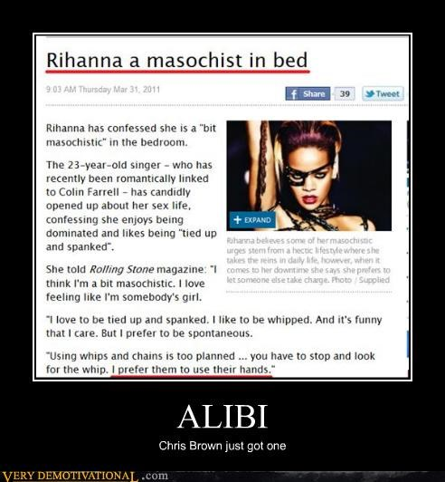 alibi chris brown rihanna wtf - 4607573760