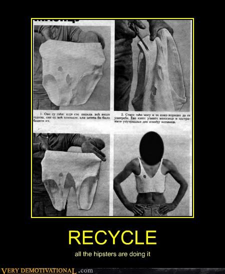 eww,recycle,shirt,underwear