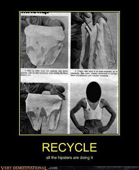 eww recycle shirt underwear - 4607741952