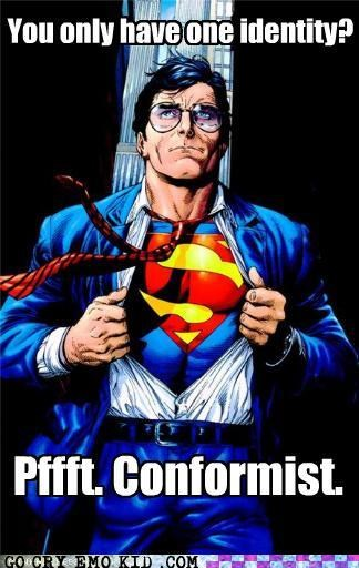 conformist,identity,superman