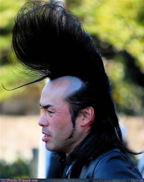 awesome hair haircut johnny bravo weird wtf - 4608566784