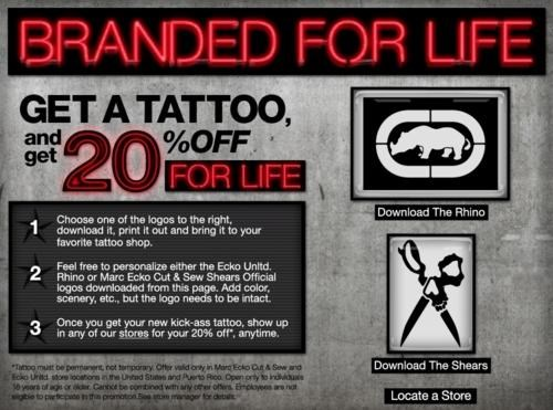Brand Branding,Deal Of A Lifetime,Ecko