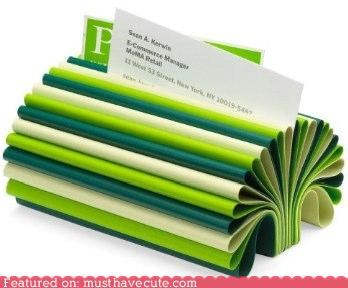 broccoli business cards desk Office - 4608968960